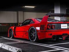 Ferrari F40, Lamborghini, Classy Cars, Tuner Cars, Sweet Cars, Top Cars, Car Engine, Car Wheels, Modified Cars