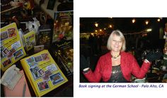 Book signing - Dec. 2011. GERMAN SCHOOL - Palo Alto, CA.  http://www.gaspa-ca.org/  - Valentina's books are available on Amazon and Barnes. Click anywhere on this page to go to Amazon.