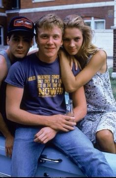 Johnny Be Good Robert Downey JR,Anthony Michael Hall,Uma Thurman Johnny Be Good, Johnny Was, Uma Thurman Young, Young Celebrities, Celebs, Actors Then And Now, Kelly Lebrock, Anthony Michael Hall, Brat Pack