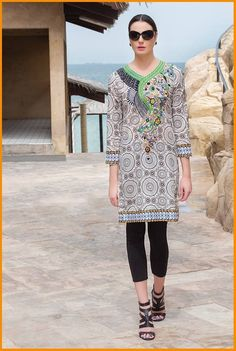 House of Chenab Zahra Dresses Collection 2016 With Price   #HouseOfChenab #LawnCollection #Embroidered #Dresses