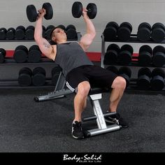 Dumbbells and free weights incorporate stabilizing muscles into your exercise making them effective in producing overall muscular strength and gains across the entire body.    Learn more: http://www.net2fitness.com/weightbenches.html