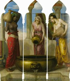 The Danaïdes ~ Walter Crane 1845-1915