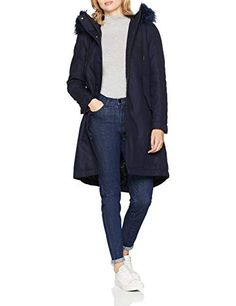 G-STAR RAW Rovic BF Padded Faux Fur Parka Wmn Donna Blu (Sartho Blue 6067)  Small d76667cc3a8