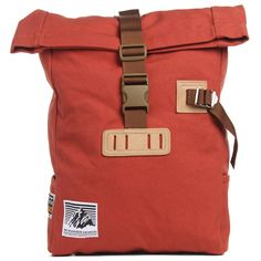 Mt. Rainier - Roll Top Bag: Pretty nice combination of trims going on here....and the label is SICK!!!