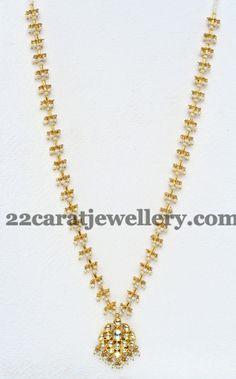 Simple Pearls Set by Mangatrai - Jewellery Designs Pearl Jewelry, Beaded Jewelry, Baby Jewelry, Thread Jewellery, Temple Jewellery, Statement Jewelry, Diamond Jewelry, Antique Jewelry, Jewelry Bracelets