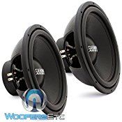 PAIR OF E-15 V.3 D4 – Sundown Audio 15″ 500W RMS Dual 4-Ohm EV.3 Series Subwoofer