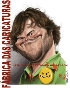 Jack Black (by Fabrica das caricaturas)