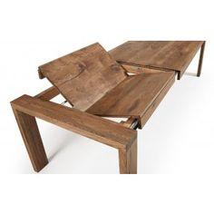 Spisebord med ileggsplater massiv eik. $19,274.00