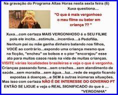 """"""" BLOG do Ivan maia """" GUAPIMIRIM REAGE BRASIL.: Xuxa diz que seu filme não é vergonhoso e sim dar ..."""