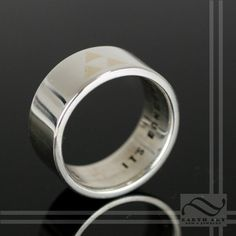 Its Dangerous to Go Alone - Triforce Wedding Band on Etsy, $300.00