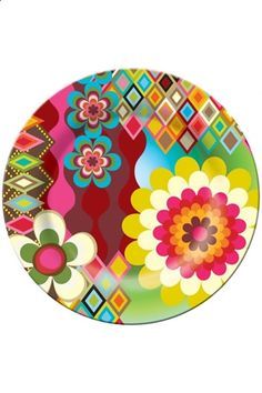 French Bull Dinner Plate, Mosaic here at Greenhouse Online::: ($1-20) - Svpply