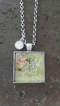Check out this item in my Etsy shop https://www.etsy.com/listing/243044277/grateful-heart-pendant-necklace-silver