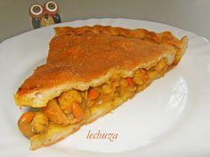 Empanada zamburiñas-porción by La lechuza que cocina, via Flickr