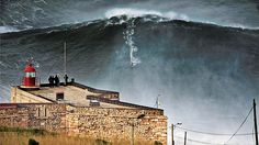 Outside May 2014 big wave Portugal Navare McNamara surf Big Mama