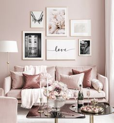 Gallery Wall Inspiration - Shop your Gallery Wall Decor Room, Bedroom Decor, Wall Decor, Wall Art For Bedroom, Gallery Wall Bedroom, Gallery Walls, Home Living Room, Living Room Decor, Black And White Posters