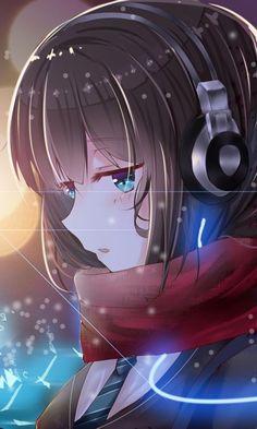 Anime Neko, Manga Anime Girl, Anime Girl Drawings, Anime Artwork, Kawaii Anime Girl, Anime Girls, Anime Love, Pretty Anime Girl, Cool Anime Girl