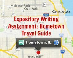 A middle or high school writing assignment idea: Hometown Travel Guide. 7th Grade Writing, Middle School Writing, Writing Classes, Middle School English, Writing Lessons, Teaching Writing, Writing Activities, Teaching Resources, Writing Services