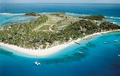 Nothing like a private island for my next vacation!   Palm Island Resort - The Grenadines