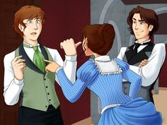 Infernal Devices- I like how I know exactly what scene this is... When Tessa yells at Gabriel Lightwood! lol