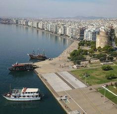Χρόνια πολλά Θεσσαλονίκη μας!!! #skg #thessaloniki #greece #drone #aerial #aerialphotography #aerialview #whitetower #droneview #agioudimitriou