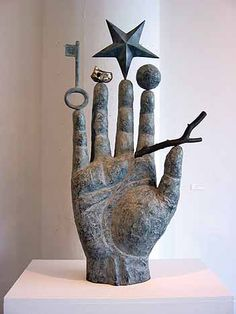 theartofsculpture:  Le Secret des Philosophes by Richard Texier
