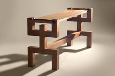 Man table  2003  Cherry, cleft cherry by Zelouf and Bell