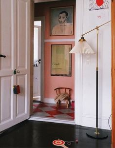 my scandinavian home: Keeping It Real In a Danish Family Home In The Heart of Copenhagen Swedish Kitchen, Interior And Exterior, Interior Design, Interior Styling, Keep It Real, Pink Walls, Scandinavian Interior, Decoration, Interior Inspiration