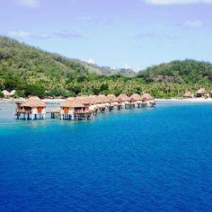Fiji: Likuliku Lagoon Resort... or anywhere with little cabins out on the water