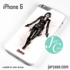 Black Widow & The Avenger Phone case for iPhone 6 and other iPhone devices