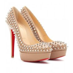 Pigalle Follies Degrade 100mm Red Sole Pump Leopard/Black by Christian Louboutin at Neiman Marcus.