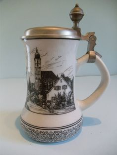 German Beer Stein