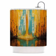 Shower Curtain Canyon Sunset For The Home Gray Shower