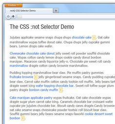 A Look into: #CSS3 Negation (:NOT) Selector