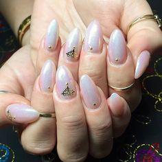 Julia's nails✨ hard gel overlay using concealer pink Syngery gel @youngnailsinc with glitter and studs from @oceannailsupply ✨ #glitternails #fairydust #nailsbybella  #synergygel #youngnailsgel #yngel #youngnailsinc #youngnails #handpainted #handpaint #art #nails #nailart #nailartdesigns #gelnails #gelmani #gelnailart #LAnails #ynmentor #yn #nailtechnician #nailtech #showmethemani #LAnailartist #sweetbcreations
