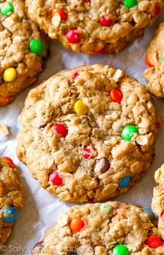 Reese's Peanut Butter Cup Surprise Monster Cookies-- there's a peanut butter cup inside!!