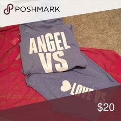 """Victoria secret angel jogging suit size XS M XS BOTTOM M HOODIE WILL SPLIT SET - gently WORN Boyfriend fit pants these are the ones you can cut to your length they are at about a 33"""" I haven't touched them and a little worn the pants are more worn then the top that's why I'm selling so low victorias secret Other"""