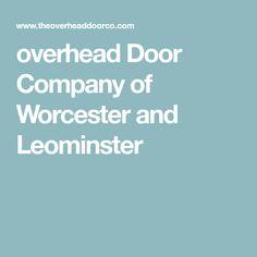 Overhead Door Company Of Boise, New Plymouth, Nampa, Coeur D Alene, Twin  Falls, Wood River Valley, Spokane | Distributors Near You | Pinterest