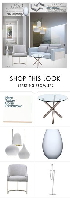 """""""New Beginnings"""" by snowbell ❤ liked on Polyvore featuring interior, interiors, interior design, home, home decor, interior decorating, Bela, Kotonadesign, Crate and Barrel and Holmegaard"""