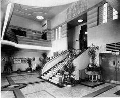 Balham Odeon Interior foyer. C.1938