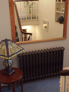 Rococo Classique cast iron radiator on the landing! Cast Iron Radiators, Liquor Cabinet, Home Appliances, Rococo, Storage, Landing, Furniture, Home Decor, House Appliances