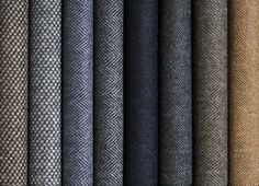 tweed fabric samples