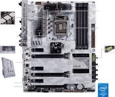 Motherboards | SABERTOOTH Z97 MARK S | ASUS USA