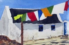 House at Arniston, Michelle Brouard Art Decor, Decor Ideas, Wooden Buildings, Natural Building, Creative Inspiration, South Africa, Folk Art, Laughter, Adobe