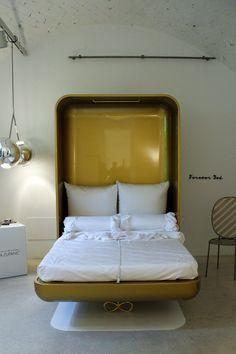 Forever Bed at Spazio Rossana Orlandi in Milan /// More on Interiorator.com