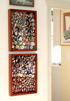como decorar com coleções - Pesquisa Google