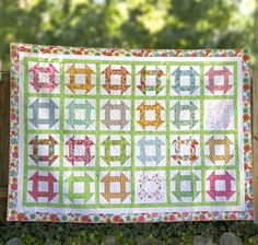 Free Pattern: Flower Patch by Lori Holt for Riley Blake Designs
