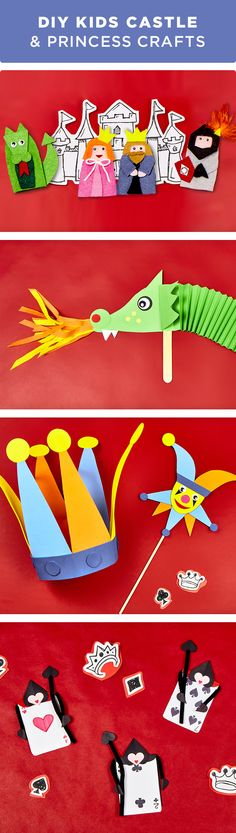 Kids can learn all about castles, dragons & princesses with these fun and simple crafts. Keep their imagination active during summer break this year. Get everything you need to make these craft projects at your local Michaels store.