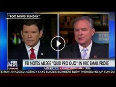 """FBI Notes Allege """"Qui Pro Quo"""" In Hillary Clinton Email Probe - Fox Report: FBI Notes Allege """"Qui Pro Quo"""" In Hillary Clinton Email Probe -…"""