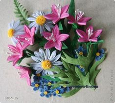 Quilling by a Russian artist.