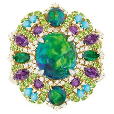 Dior 'Bouquet d'Opales' Ring of the 'Dear Dior' Collection